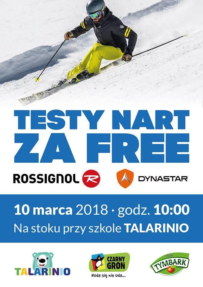 W sobotę: testy nart za FREE na stoku Czarnego Gronia