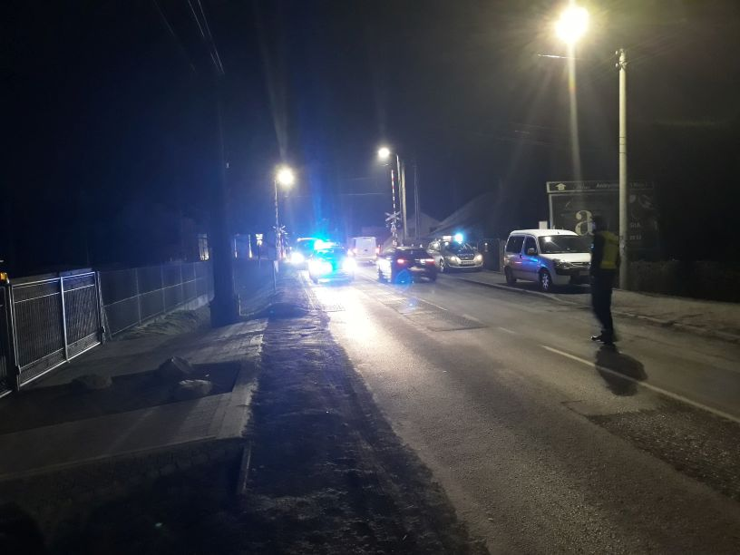 Weekend na drogach powiatu. 9 kolizji i 4 wypadki