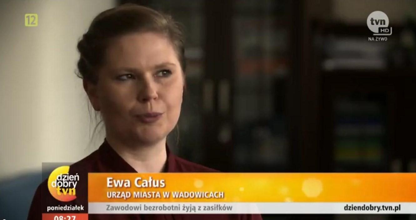 """Wiceburmistrzyni w telewizji TVN o """"zawodowych bezrobotnych"""""""
