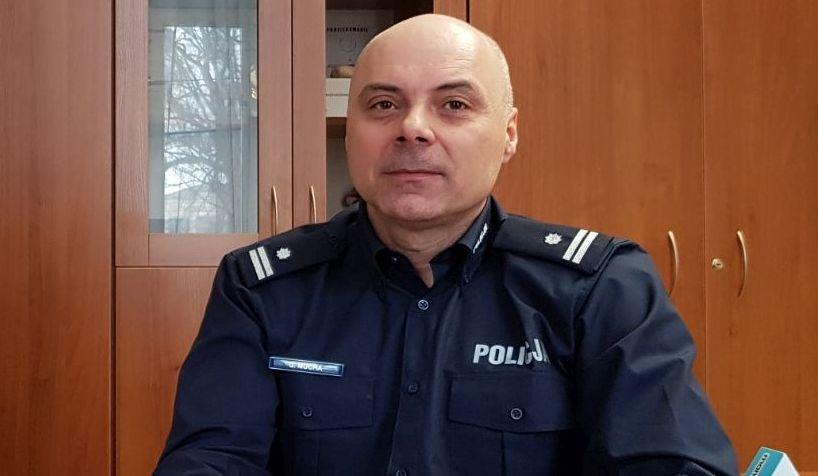 Rozmowy przy kawie z mamNewsa.pl. Nowy komendant andrychowskiej policji