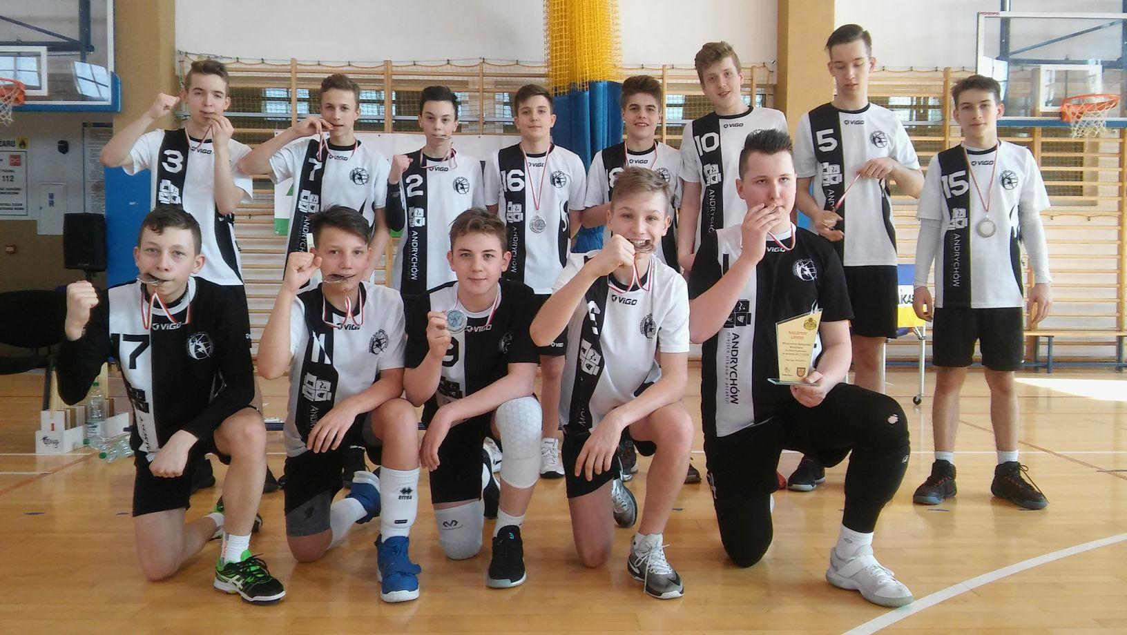 Młodzicy MKS Andrychów wicemistrzem Małopolski [FOTO]