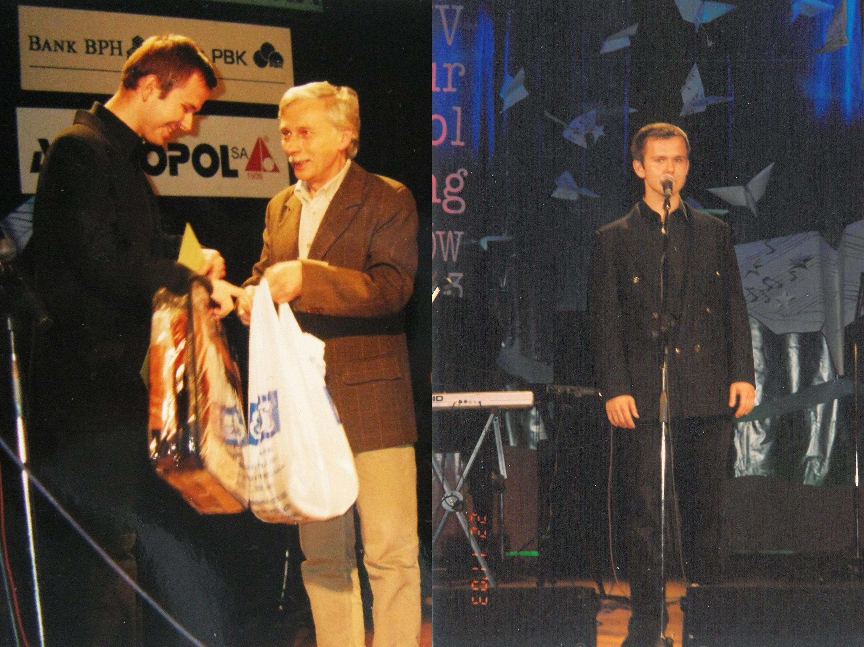 Słynny SŁAWOMIR pierwsze muzyczne kroki stawiał podczas Piosturu w Andrychowie. Zdobył nawet nagrodę [FOTO]