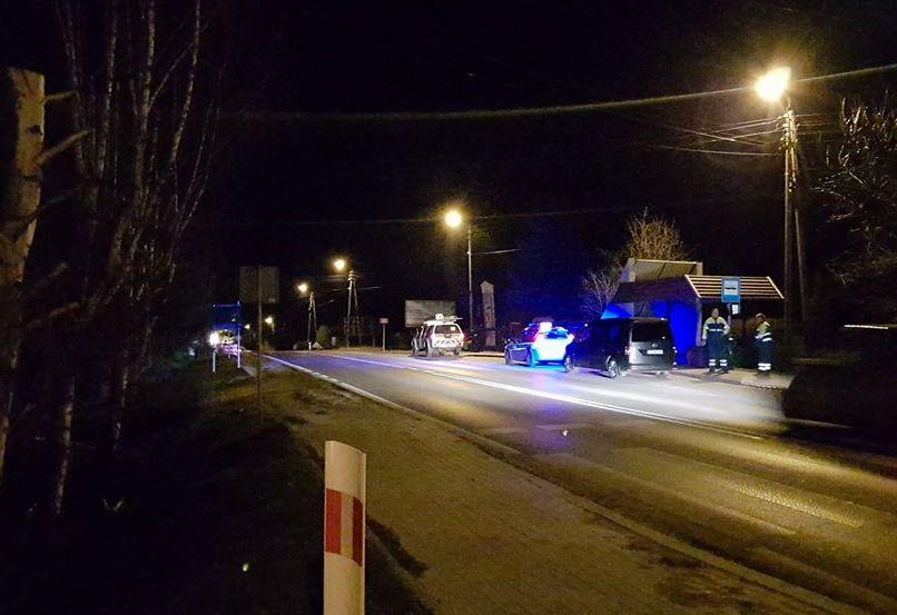 Po tragedii na drodze w Bulowicach: nocny eksperyment procesowy w miejscu zdarzenia