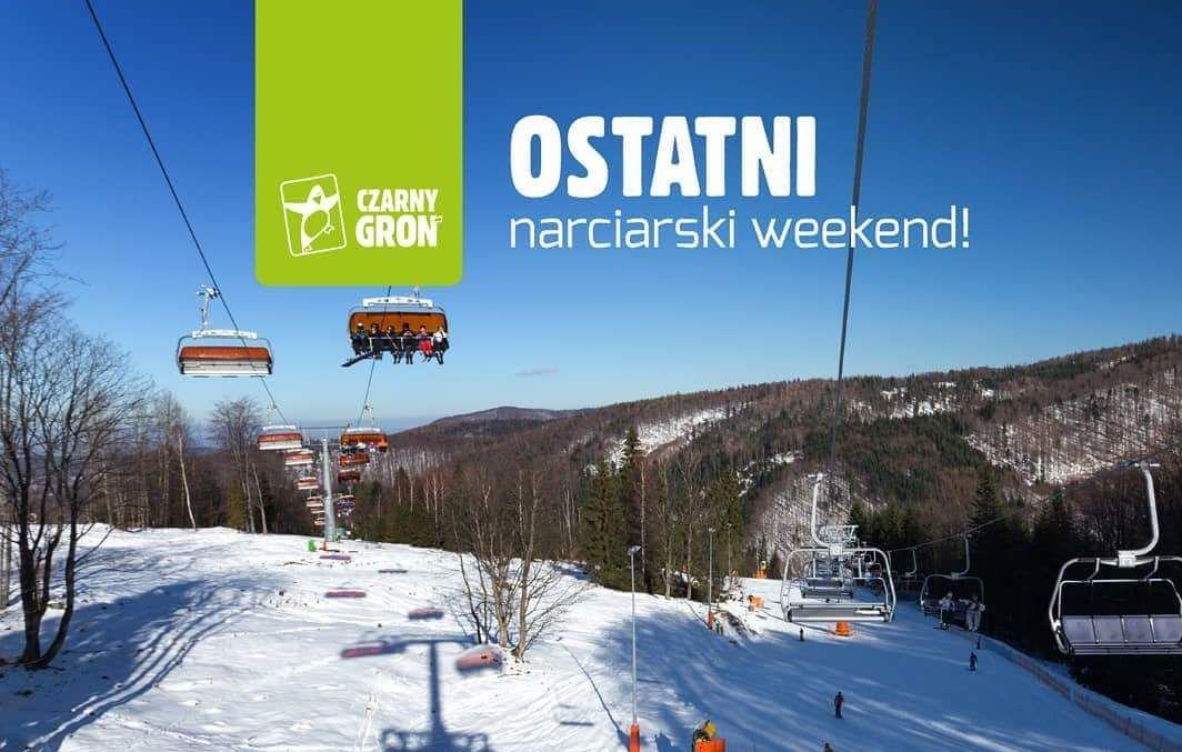 UWAGA. To już ostatni narciarski weekend w tym sezonie