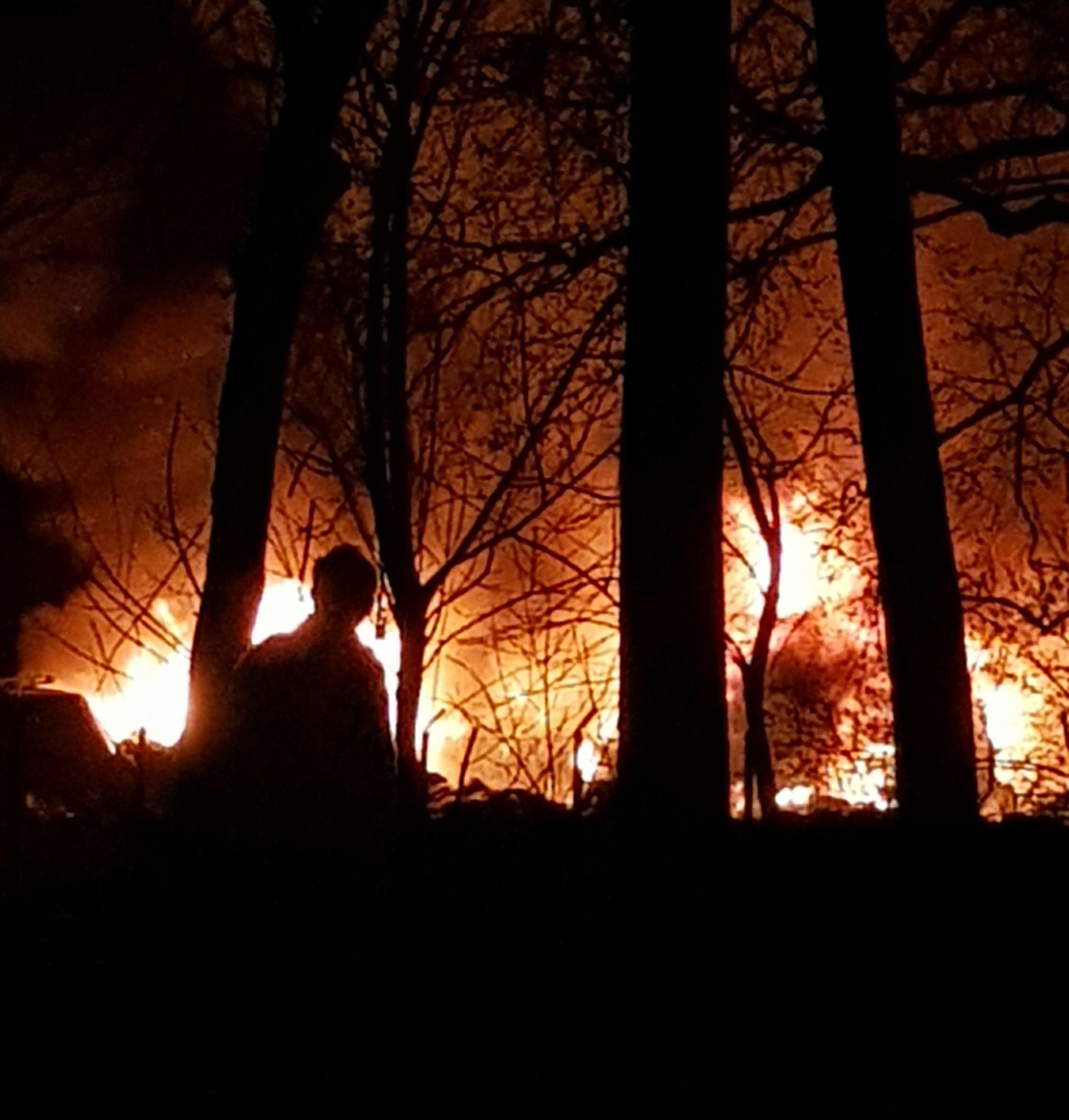 Są wnioski po pożarze w Łękach. Teraz będzie bezpieczniej?