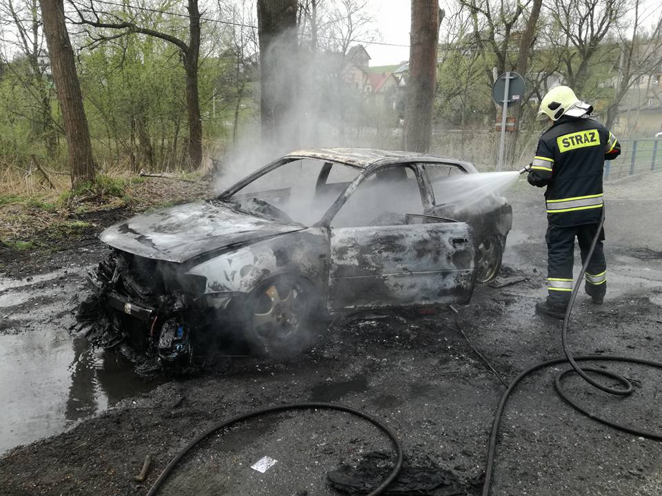Audi poszło z dymem
