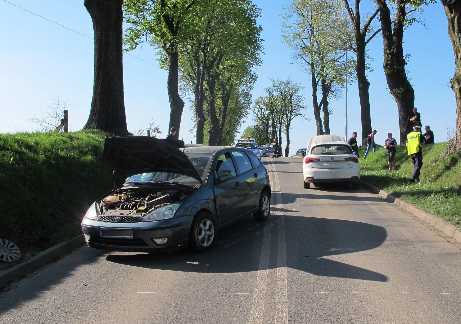 Dwie osoby poszkodowane w wypadku w Polance