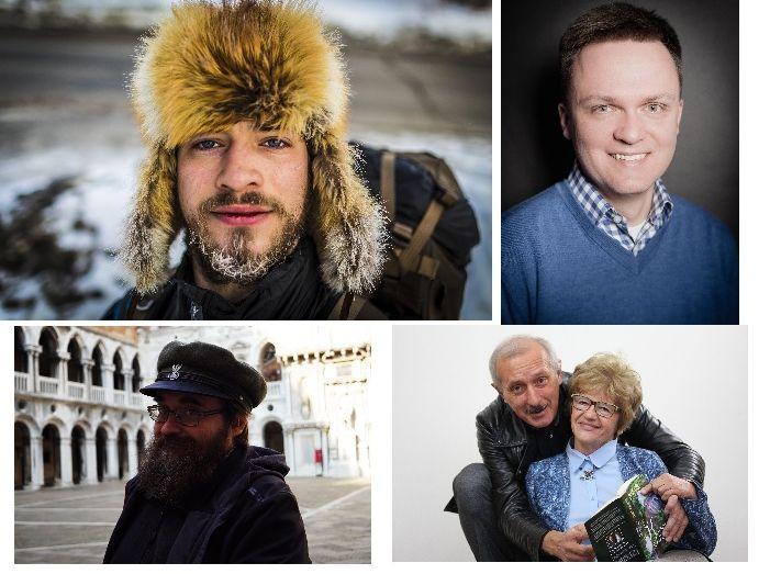 Jasiek Mela, Szymon Hołownia, Andrzej Pilipiuk, Maria Ulatowska i inni na festiwalu książki