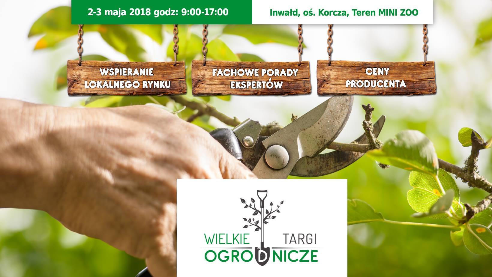 Wielka Majówka - Wielkie Targi Ogrodnicze 2018