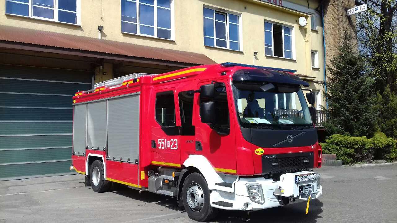 Straż Pożarna ma nowy wóz. Zobaczcie [FOTO]