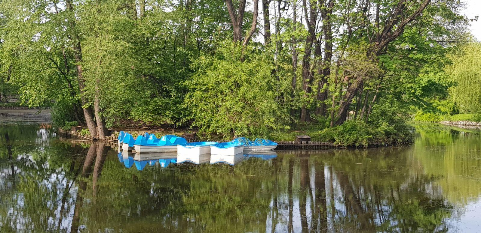 Na staw w Andrychowie wracają łódki i rowerki wodne