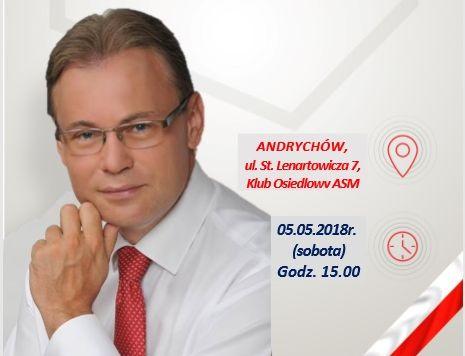PiS robi spotkanie z Arkadiuszem Mularczykiem w Andrychowie. A kto na burmistrza?
