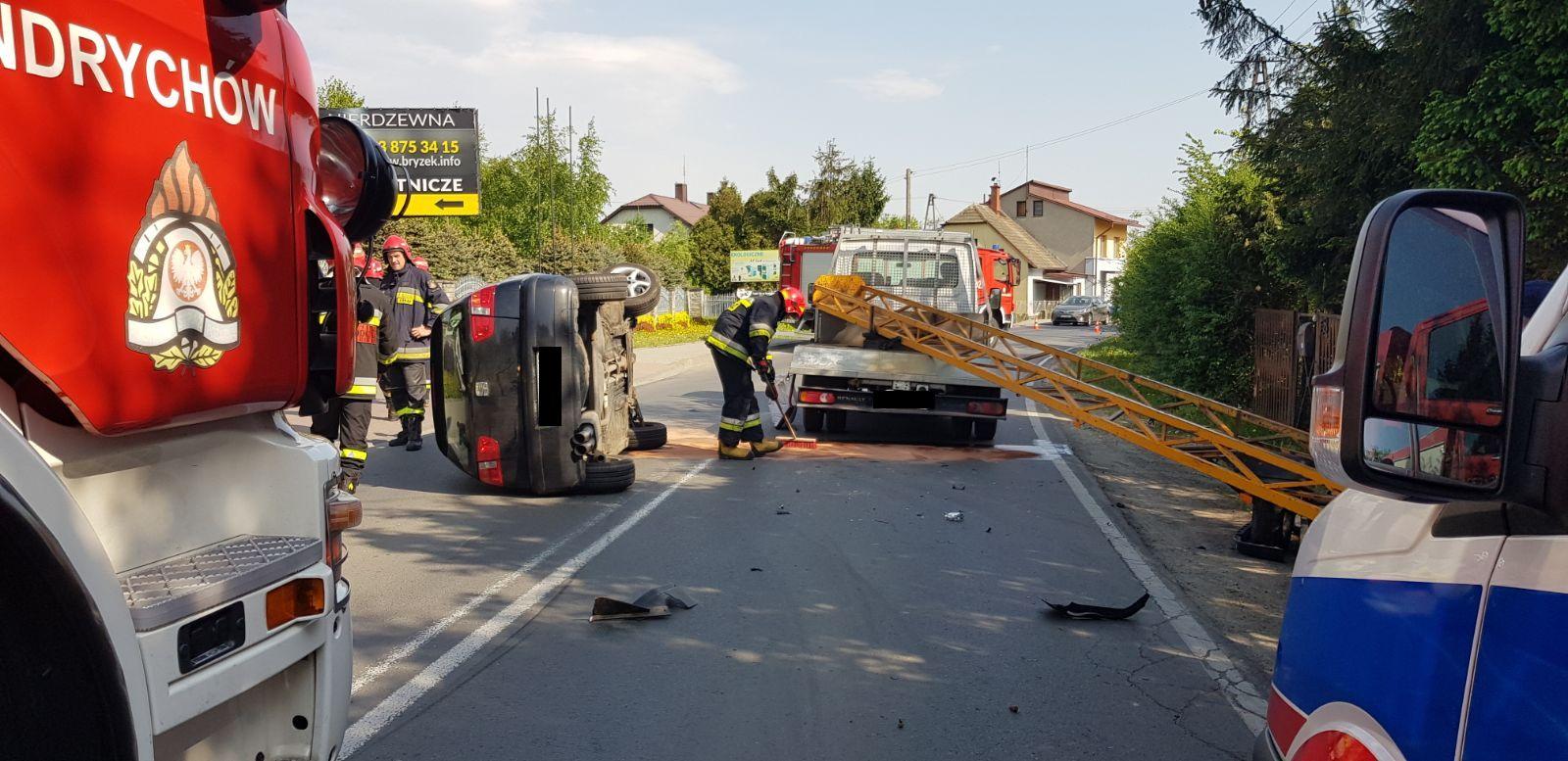 Groźny wypadek na Batorego [FOTO]