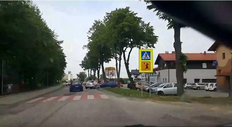Niebezpieczne zdarzenie koło szkoły [VIDEO]