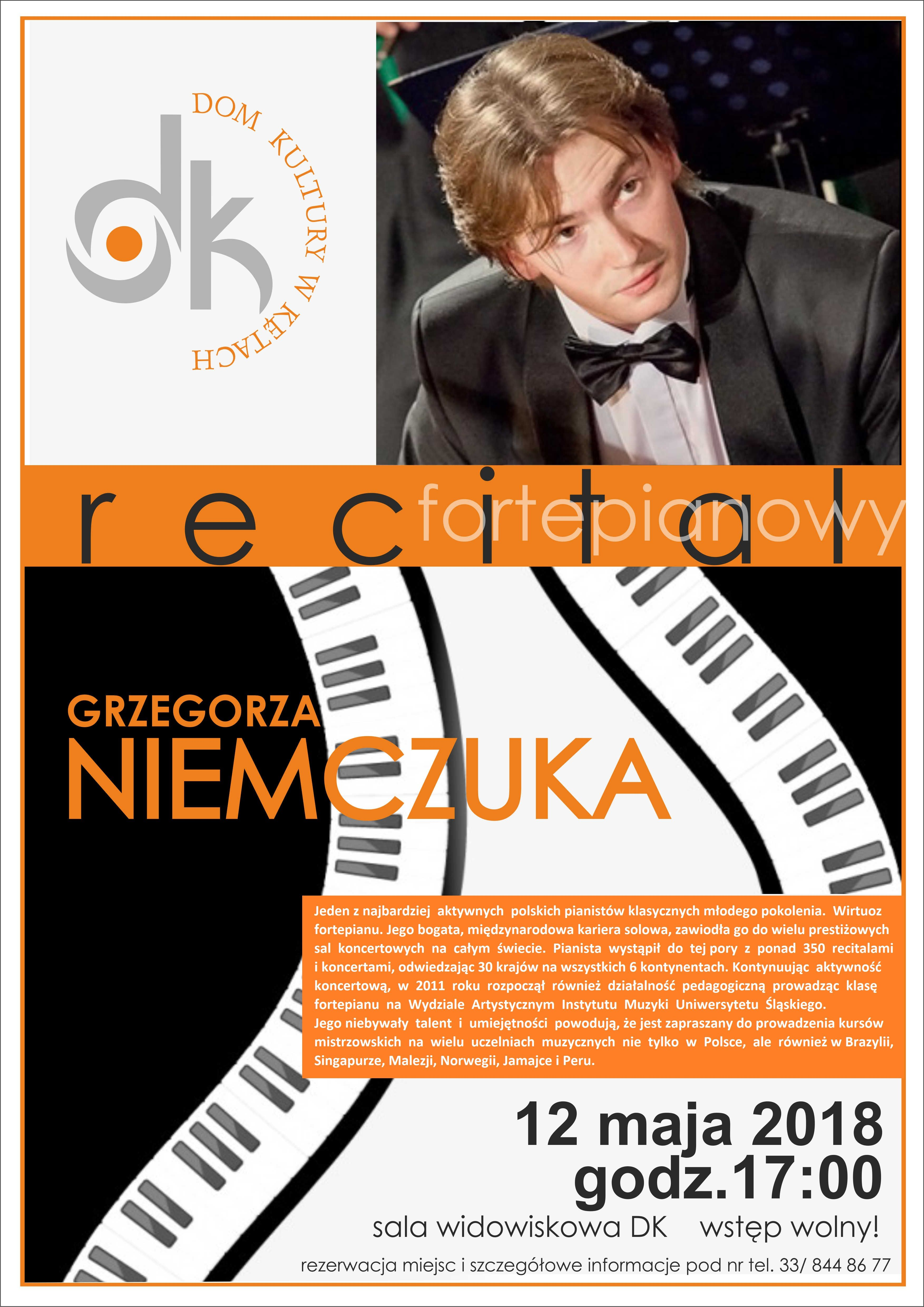 Recital Grzegorza Niemczuka