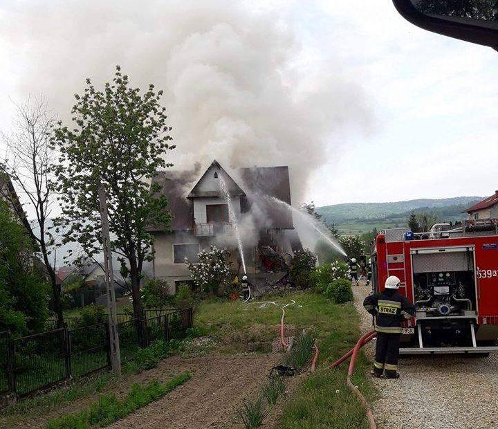 Wybuch gazu w budynku [FOTO] [AKTUALIZACJA]