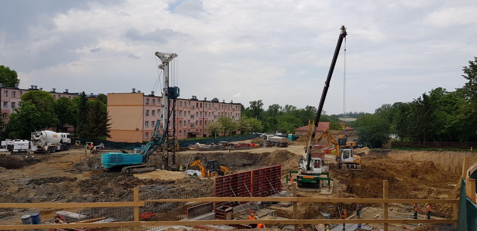 Zaglądamy na placu budowy nowego basenu [FOTO] [AKTUALIZACJA]