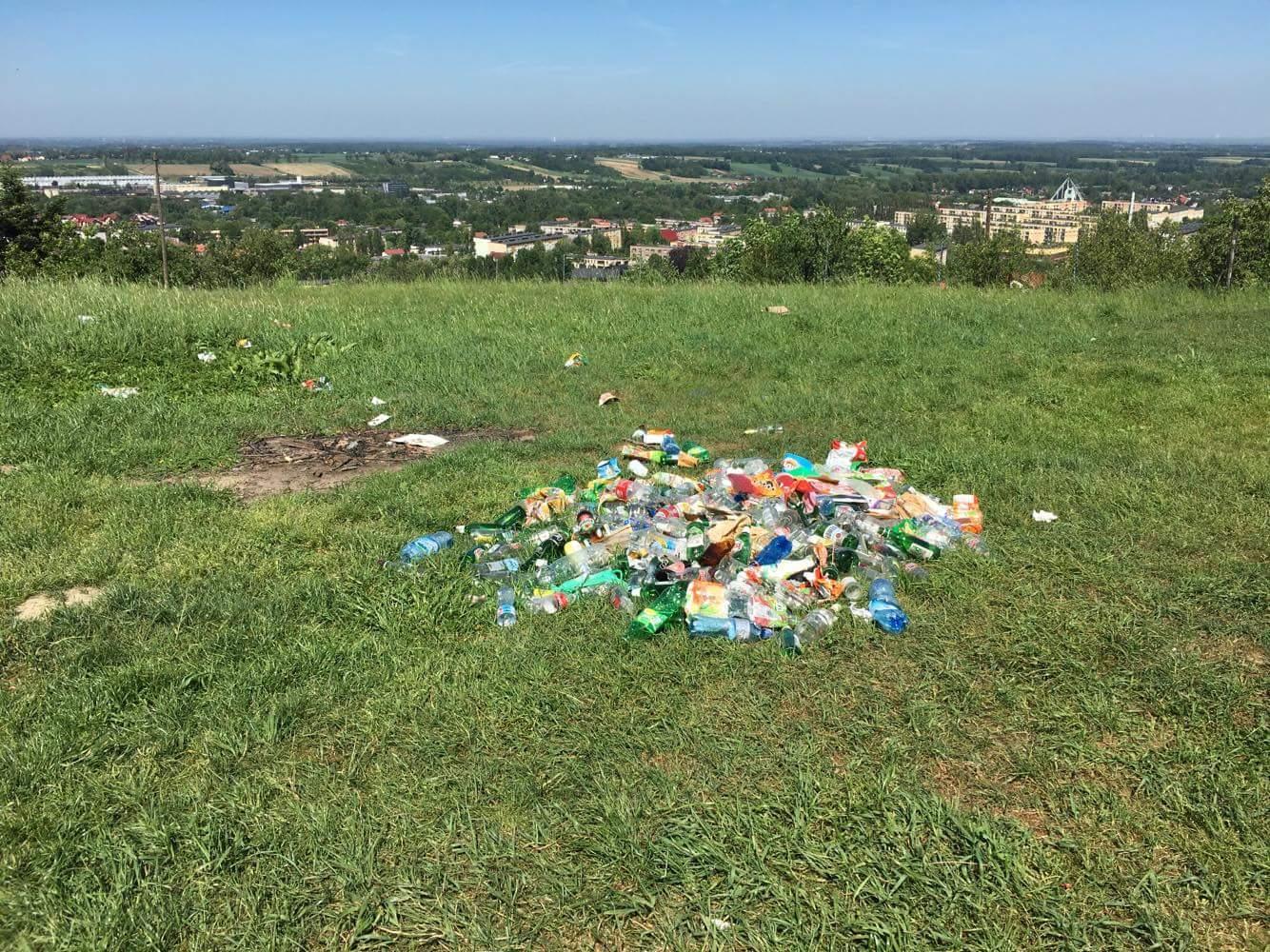 Takie wysypisko śmieci na Pańskiej Górze