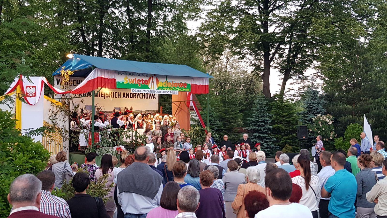Patriotyczny Koncert Jubileuszowy na maciejowym święcie
