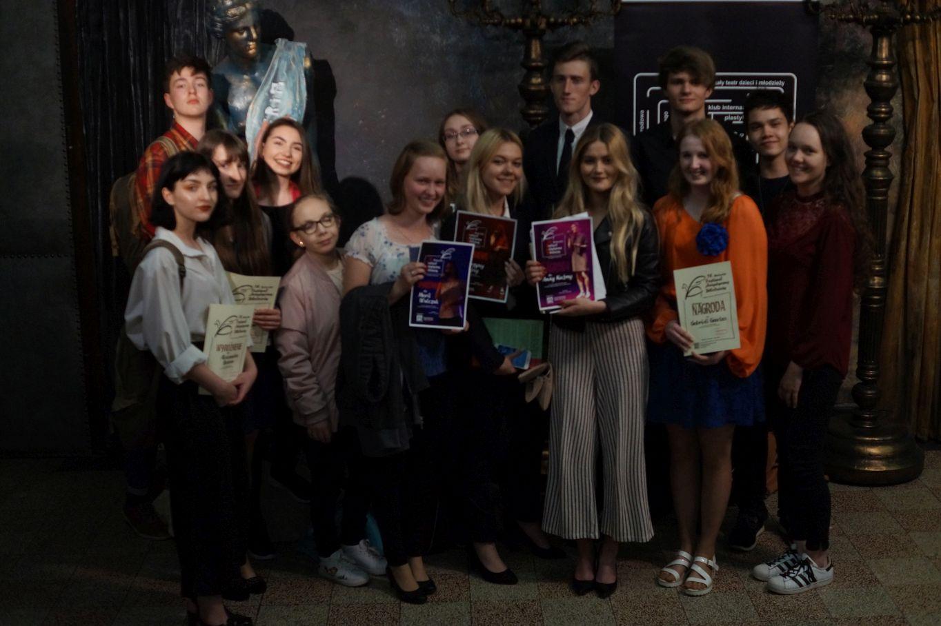 Grad nagród dla licealistów z Andrychowa