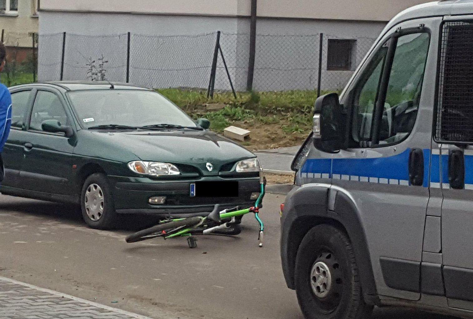 Wypadek. Potrącenie rowerzysty w Andrychowie