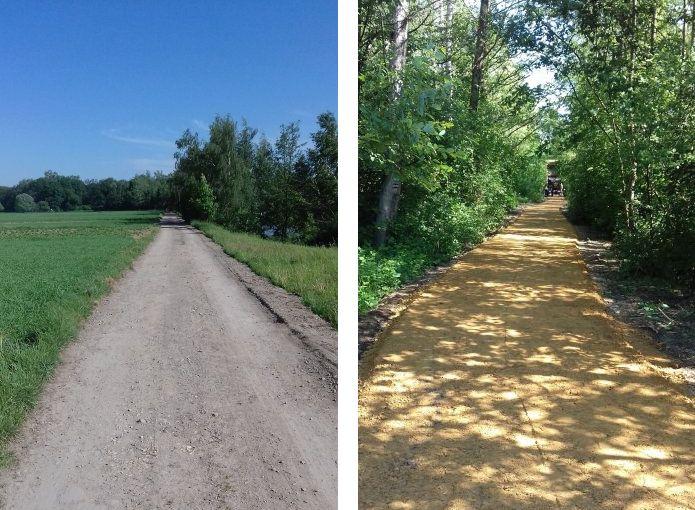 Budują trasy specjalnie dla rowerzystów