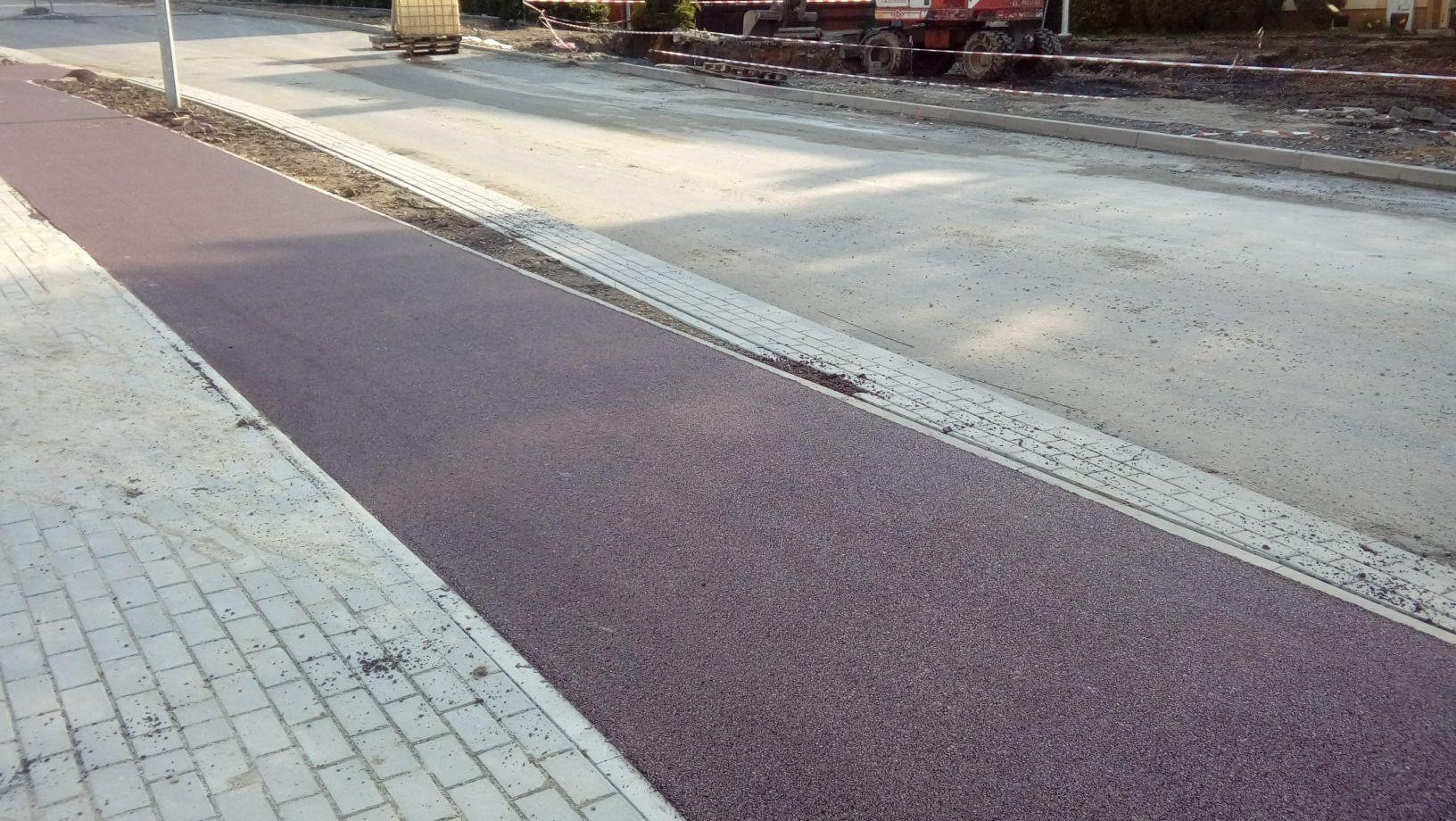 Nowa ścieżka rowerowa na osiedlu