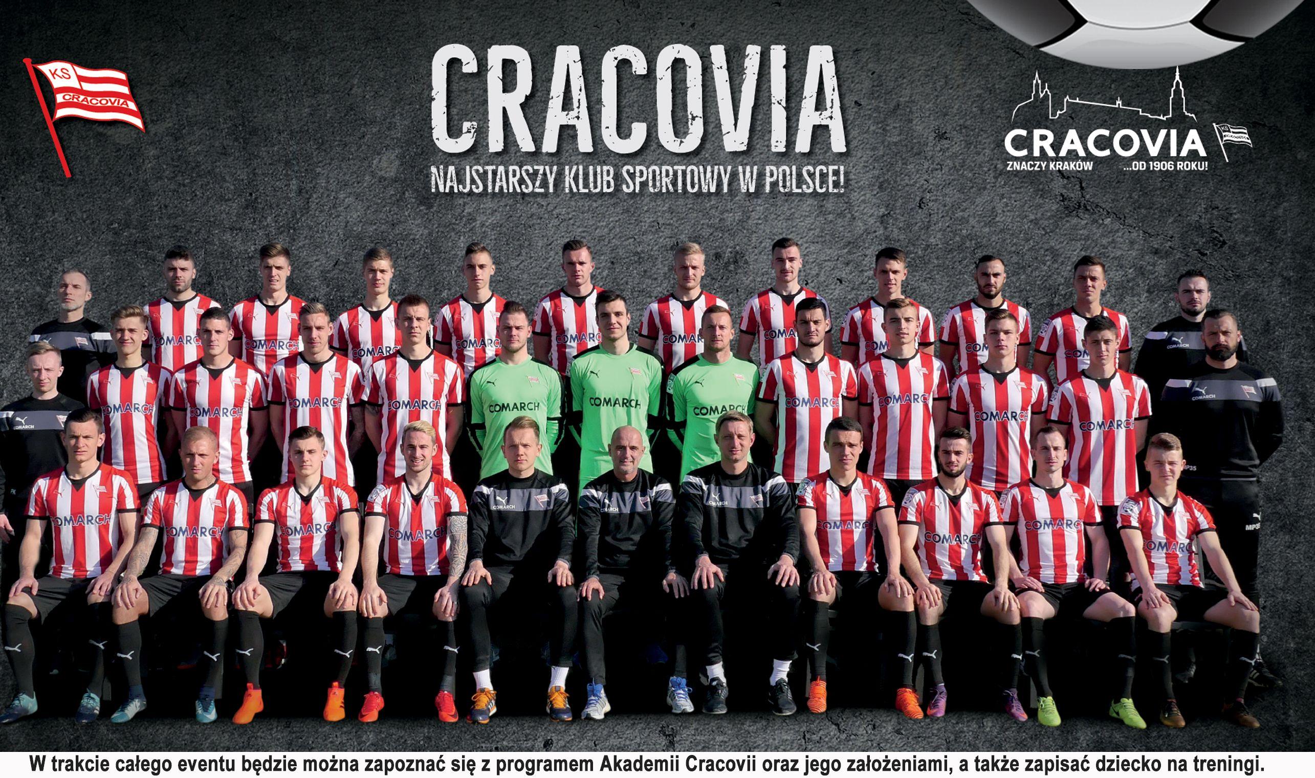 Nowa szkółka piłkarska Cracovii w Andrychowie ogłasza nabór