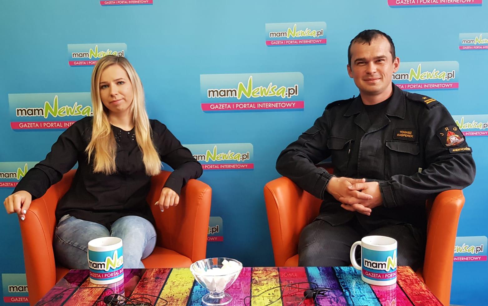 Rozmowy przy kawie z mamNewsa.pl. Nowy dowódca andrychowskich strażaków