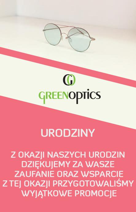 Green Optics świętuje urodziny i rozdaje prezenty