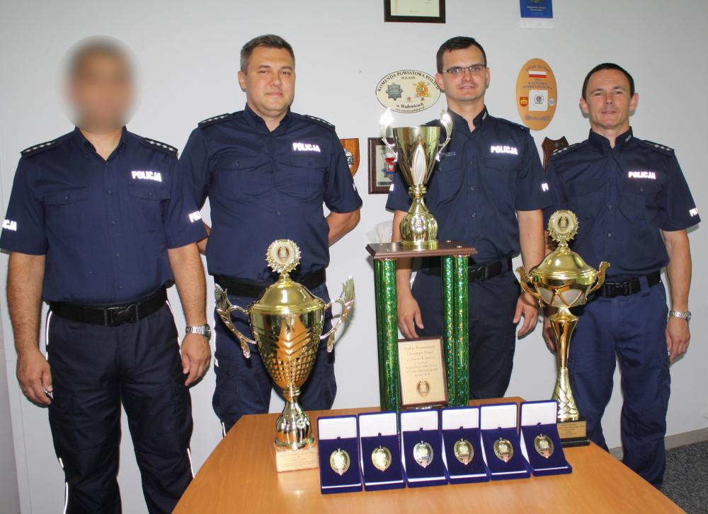 Kryminalni z powiatu wadowickiego Mistrzami Polski [FOTO]