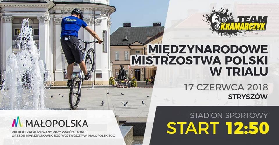 Już w niedzielę widowiskowe Mistrzostwa Polski w trialu rowerowym