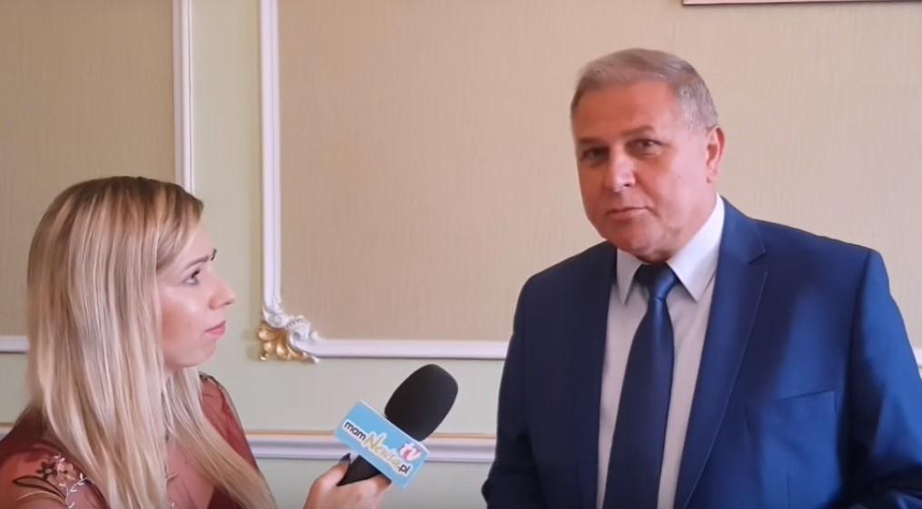 Burmistrz o ZGK i kontrowersjach wokół placu Mickiewicza