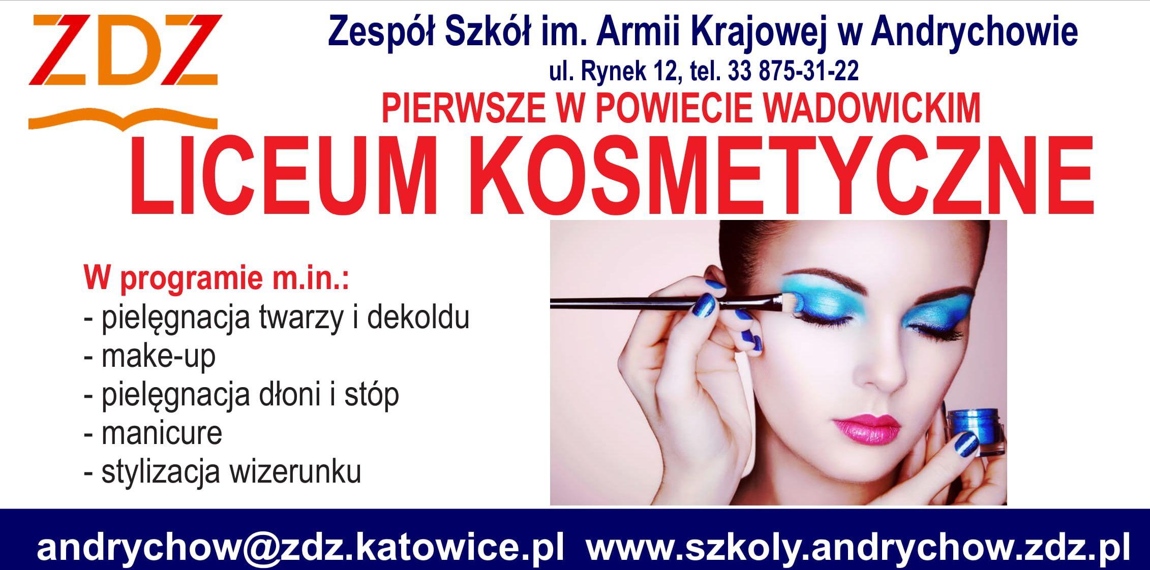 Nowe Liceum Kosmetyczne w Andrychowie. Pierwsze w powiecie wadowickim!