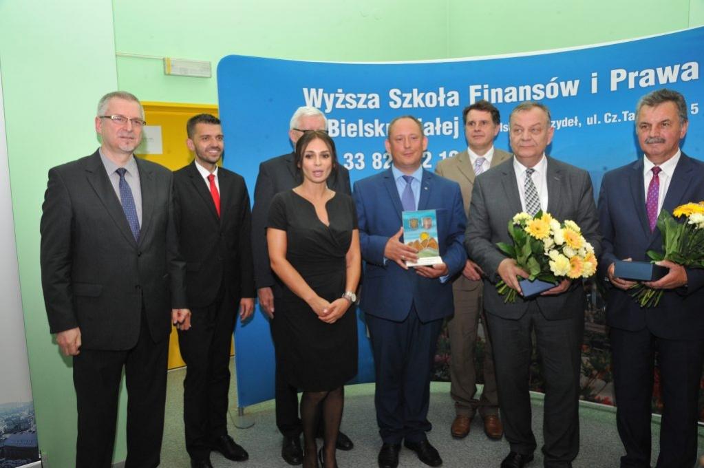Burmistrz Kęt z nagrodą Samorządowiec Podbeskidzia 2018