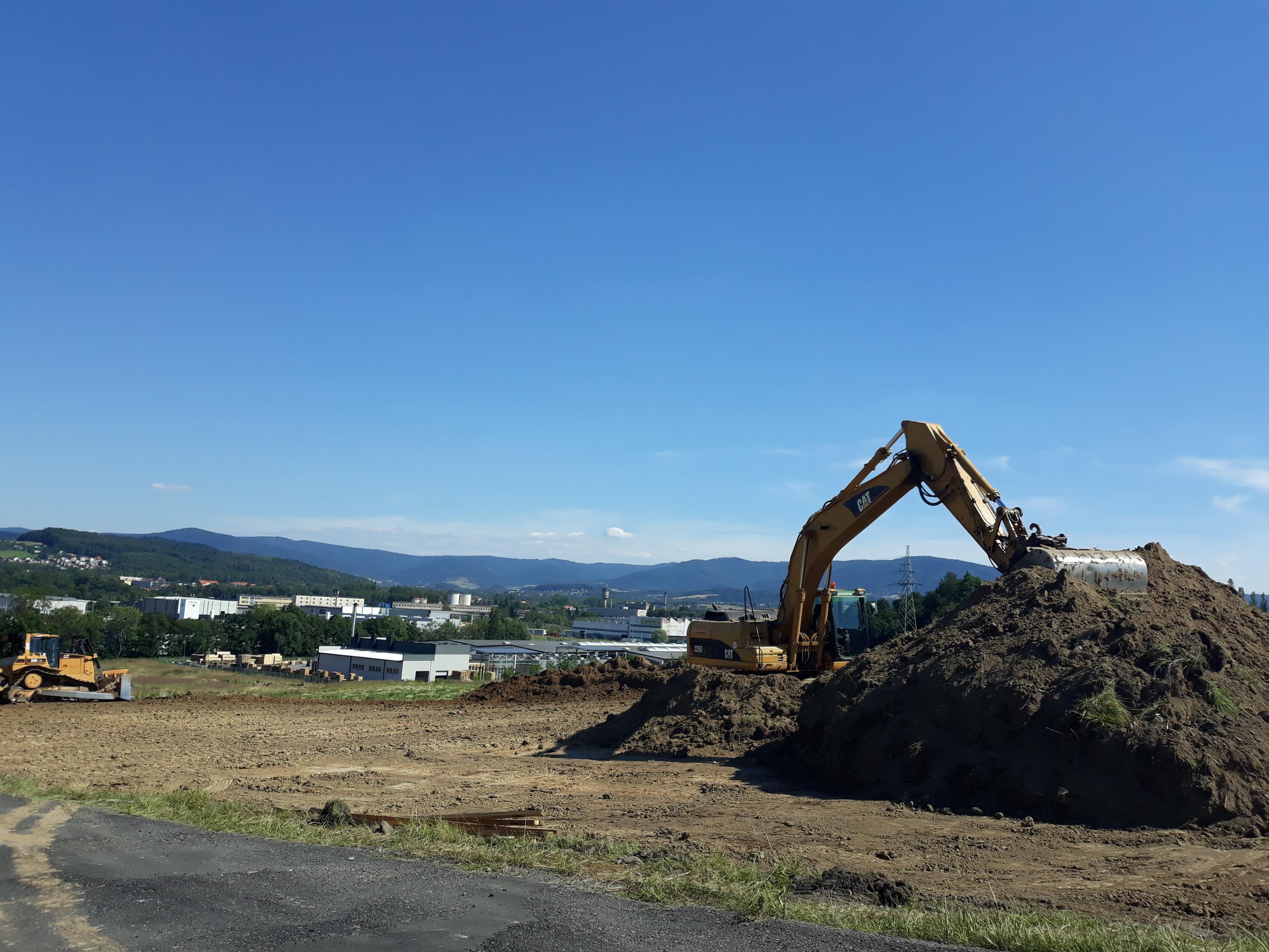 Rozpoczęła się budowa strefy ekonomicznej w Andrychowie [FOTO]