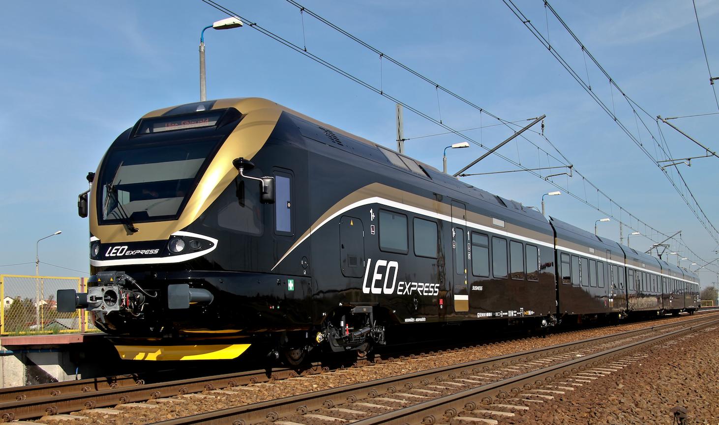 Leo Express z Krakowa do Pragi przez Zator i Oświęcim