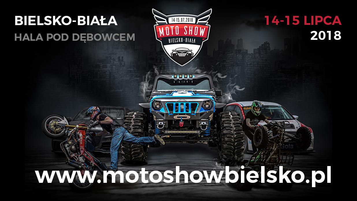 MOTO SHOW Bielsko-Biała 14-15.07.2018r. Bilety do wygrania [AKTUALIZACJA]