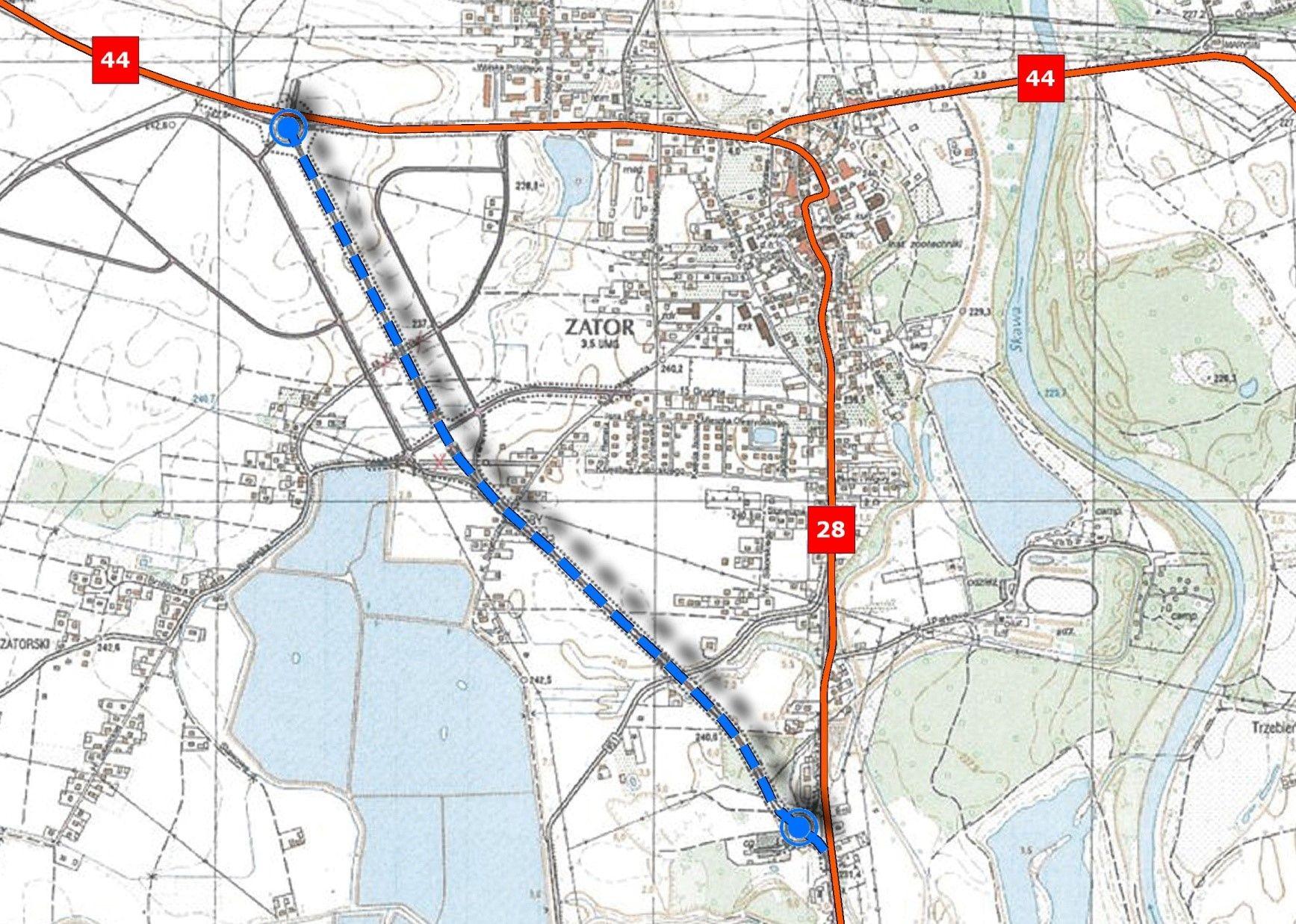 Ogłoszono przetarg na projekt i budowę obwodnicy Zatora