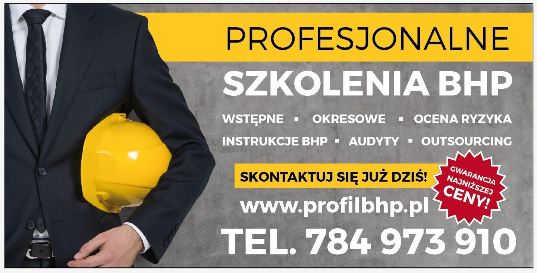 Chroń siebie i swoich pracowników. Profesjonalne szkolenia BHP