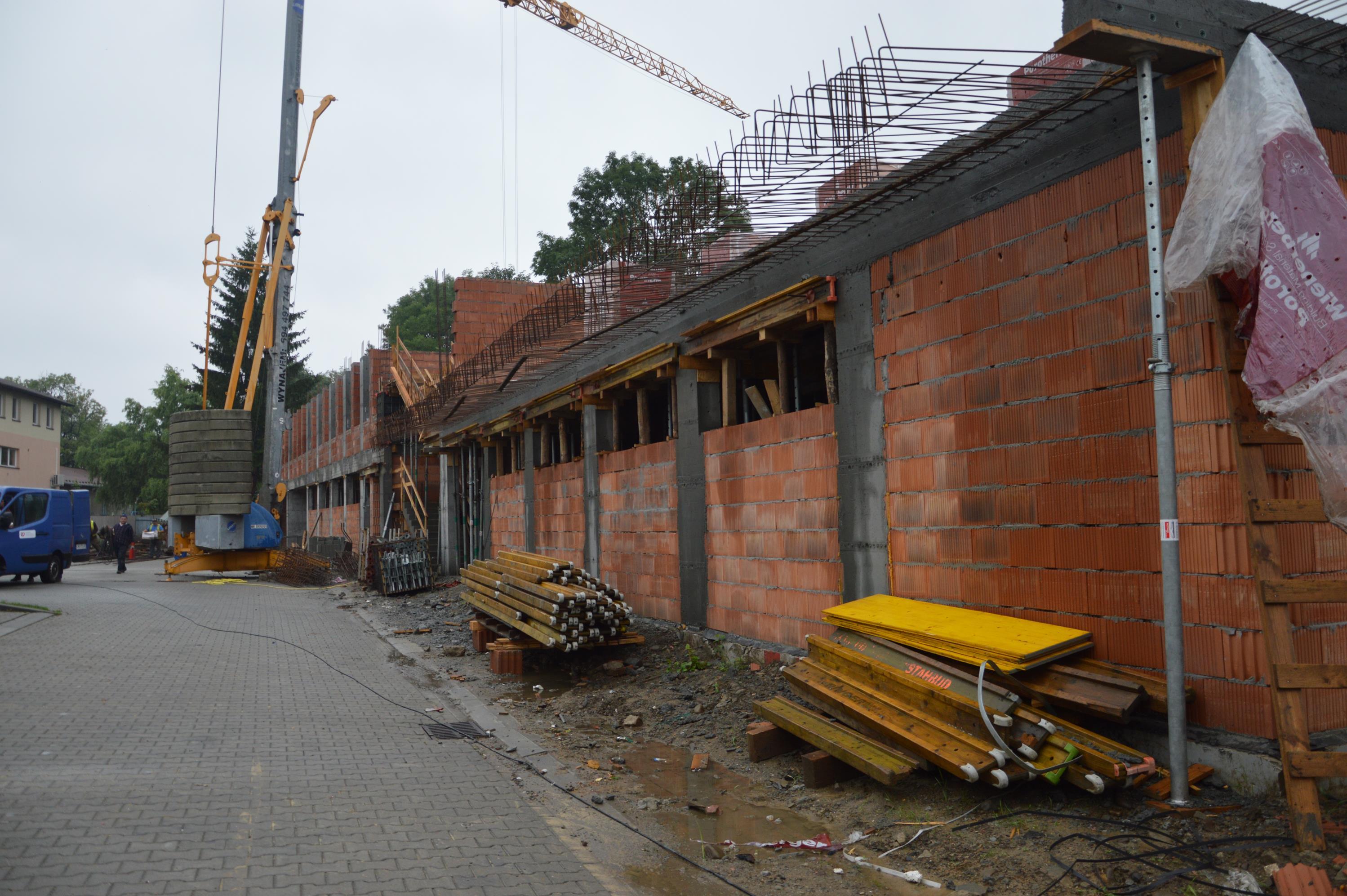 Nowa siedziba starostwa w budowie [FOTO]