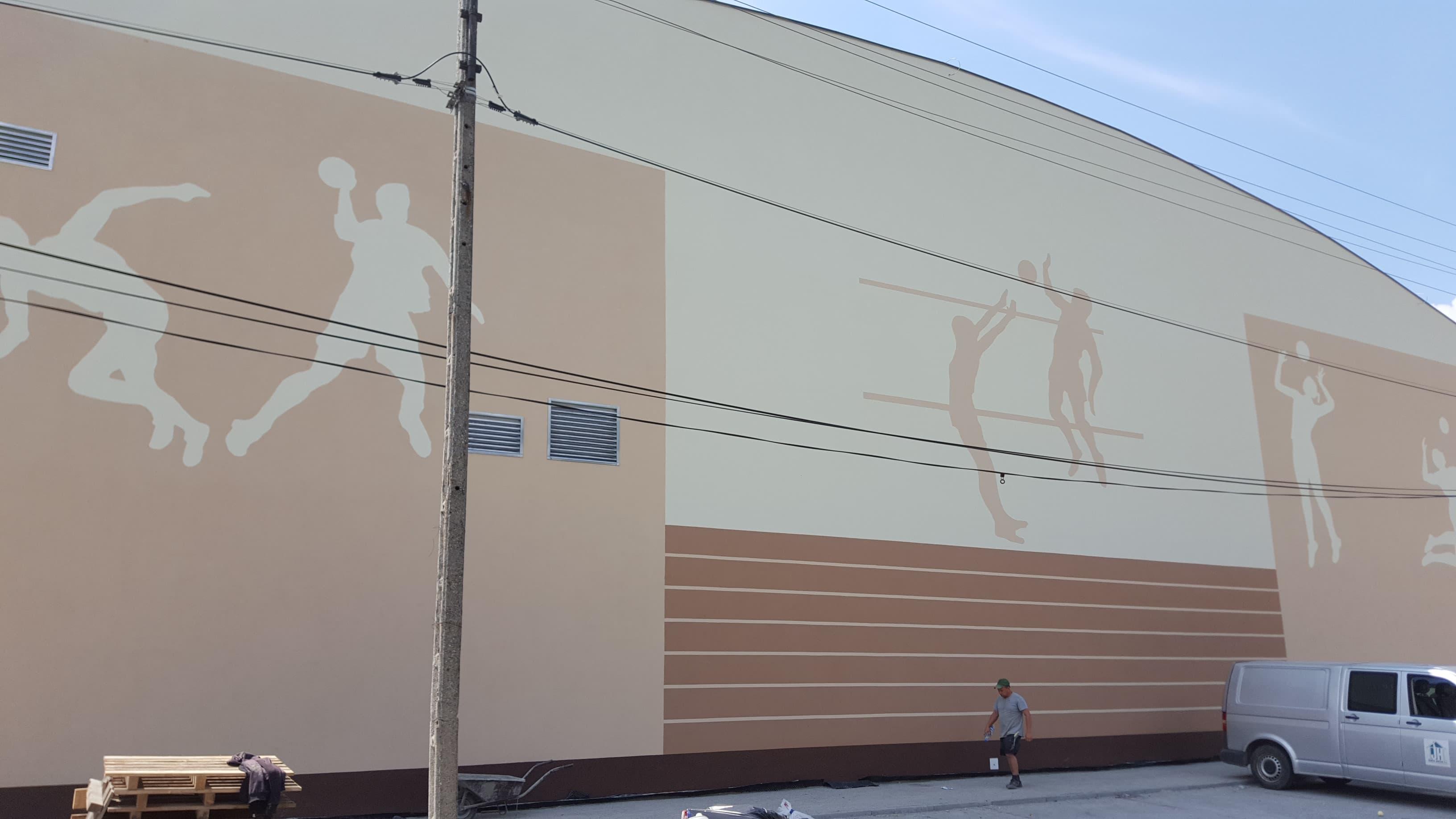Dobiega końca budowa okazałej sali gimnastycznej na Podlesiu [FOTO]