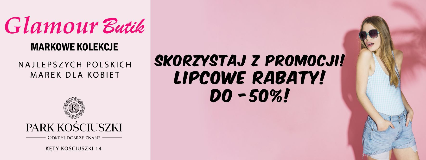 RABATY LIPCOWE. DO – 50% W GLAMOUR BUTIK!