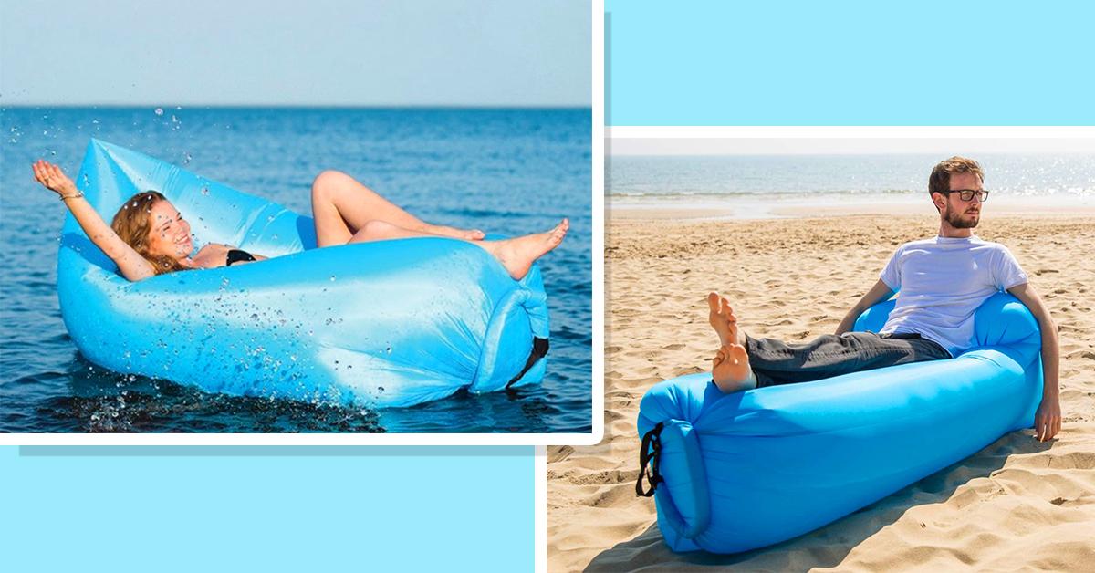 Dmuchane materace do ogrodu i na plażę, HIT tego lata do kupienia w Andrychowie!