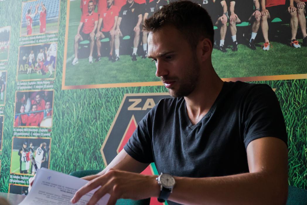 Adam Kokoszka podpisał kontrakt z nowym klubem