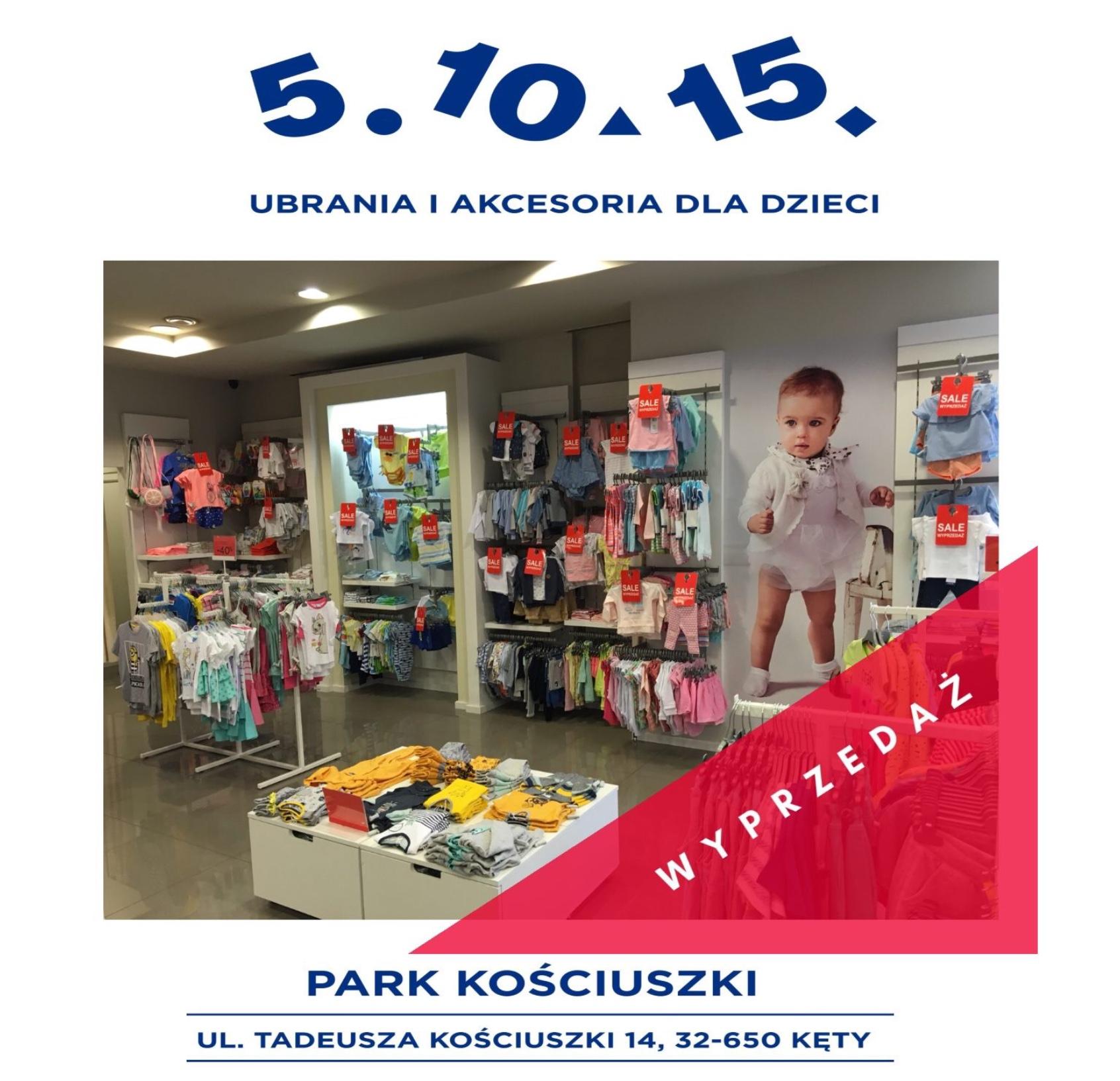 Sklep 5.10.15 Park Kościuszki. OSTANIE DNI WYPRZEDAŻY!