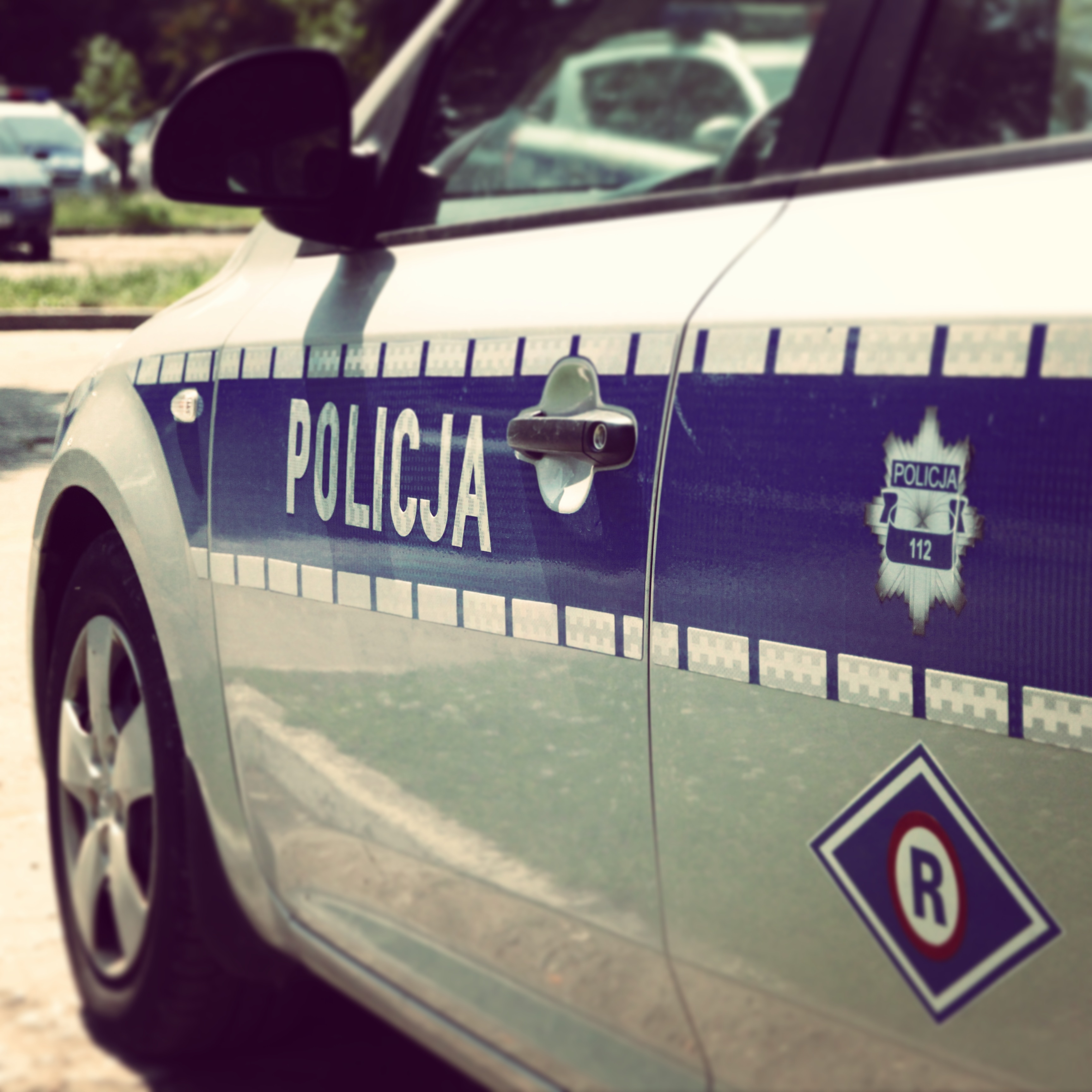 Policyjny weekend - 3 wypadki i 15 kolizji