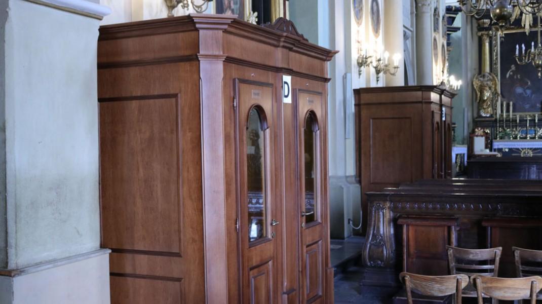 W kalwaryjskim sanktuarium zamontowano konfesjonały z klimatyzacją i ogrzewaniem