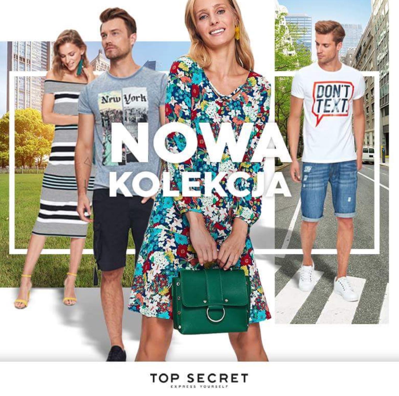 Top SECRET. Nowa kolekcja pełna najnowszych trendów i soczystych kolorów jest już dostępna!