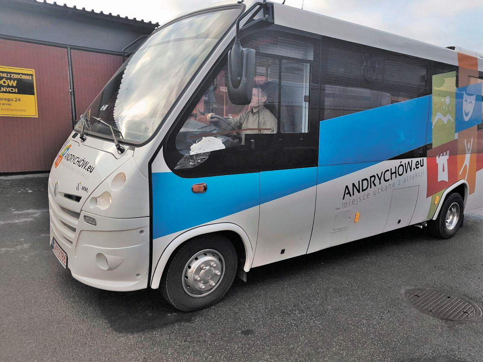 Marszałek przyjedzie do Andrychowa przejechać się nowym autobusem